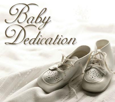 Baby Dedication Request Form The Refiner S Wheel